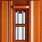 Bruynzeel isolatieglas glas in lood 1