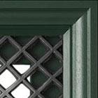 Glasdeur zonder glas